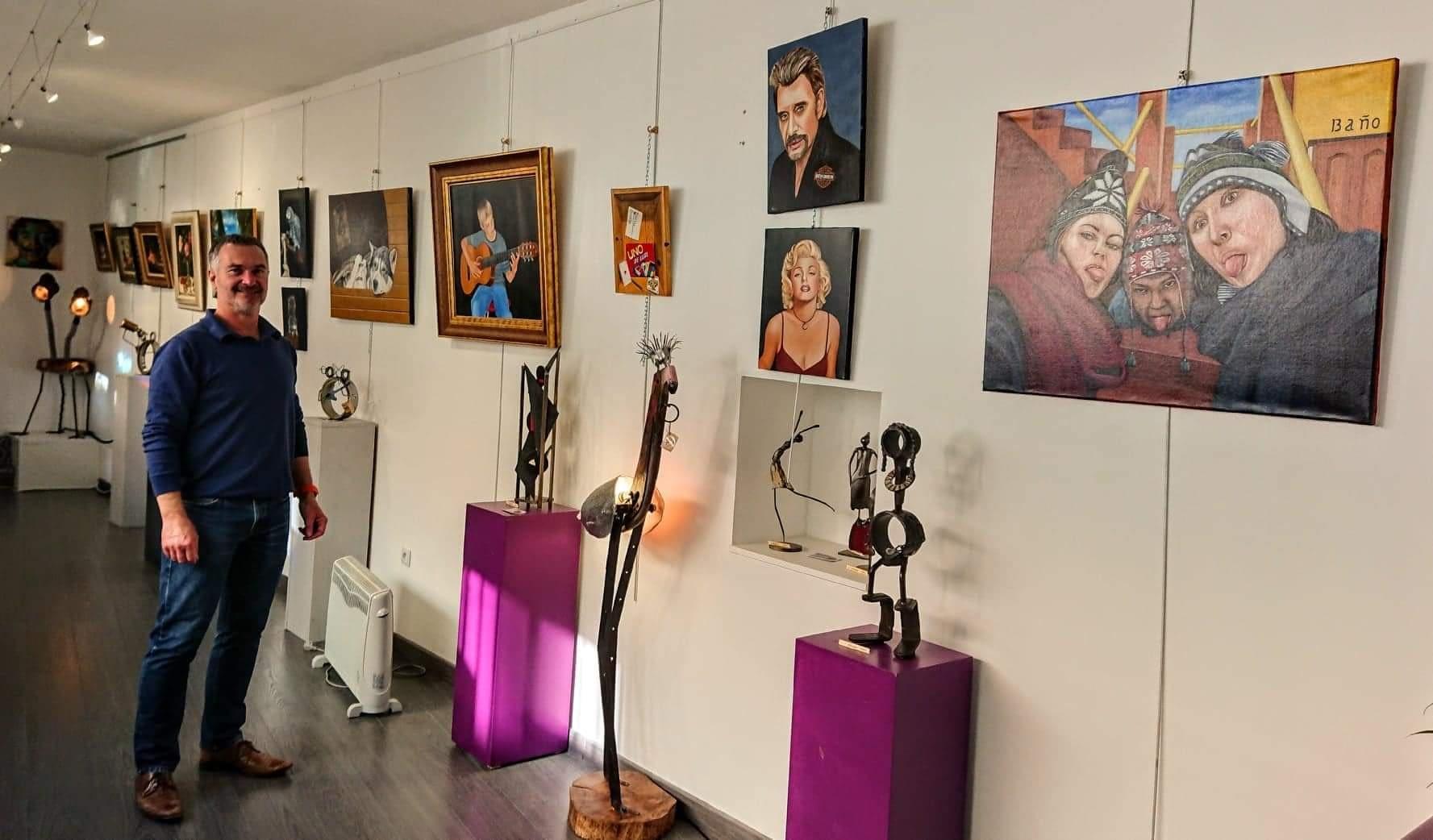 Exposition Philippe Vigier Atelier des 16 arts