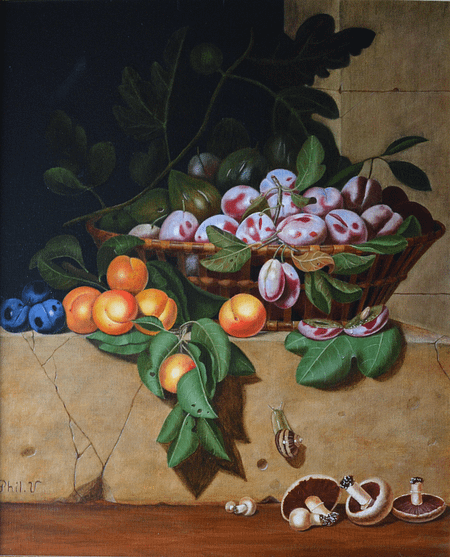 Paul Liégeois, reprise de nature morte