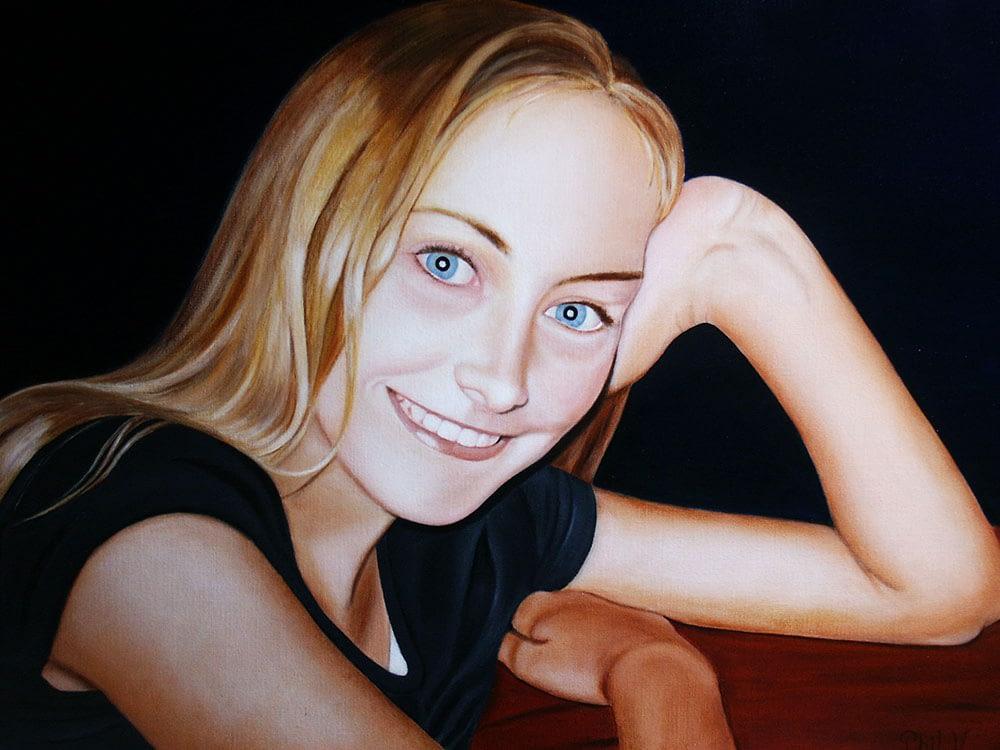 Peinture de Dorine